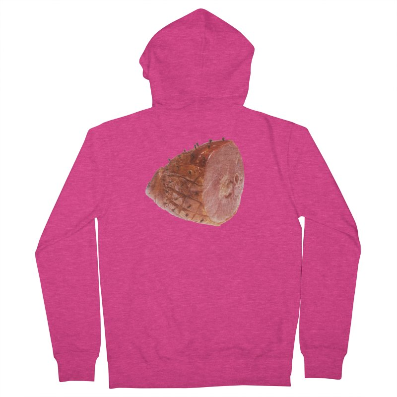 Good Looking Ham Women's Zip-Up Hoody by rockthestereo's Artist Shop