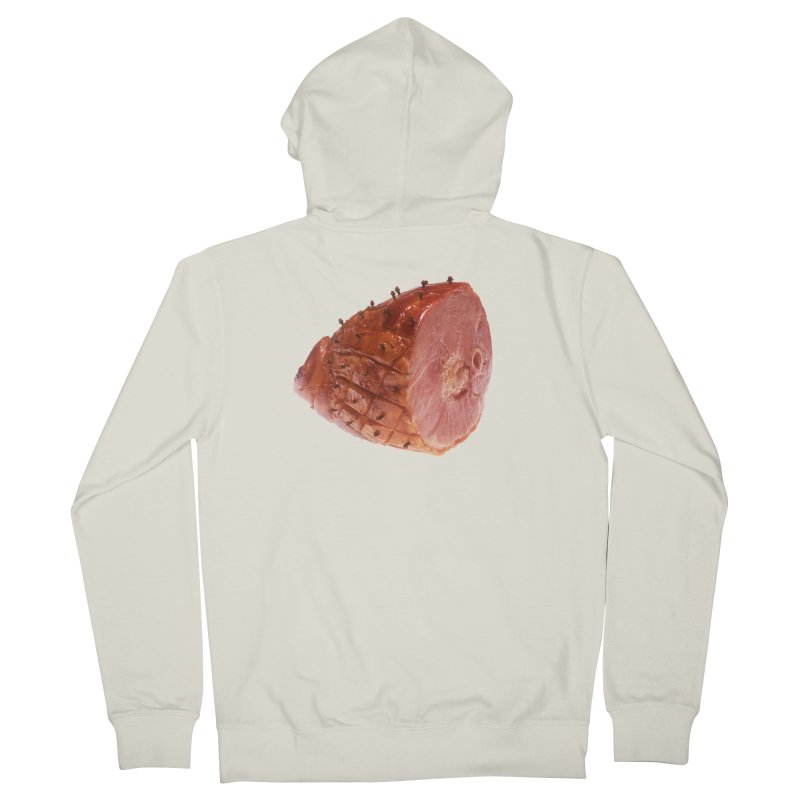 Good Looking Ham Women's French Terry Zip-Up Hoody by rockthestereo's Artist Shop