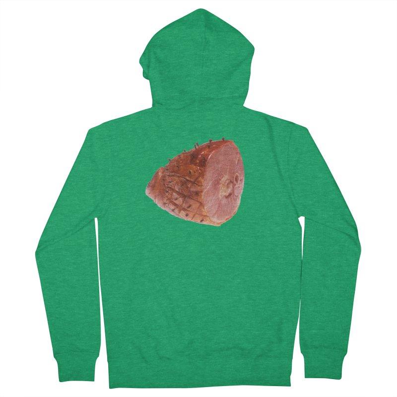 Good Looking Ham Men's Zip-Up Hoody by rockthestereo's Artist Shop