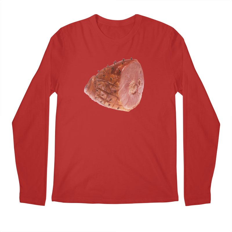 Good Looking Ham Men's Longsleeve T-Shirt by rockthestereo's Artist Shop