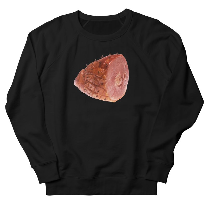 Good Looking Ham Men's French Terry Sweatshirt by rockthestereo's Artist Shop