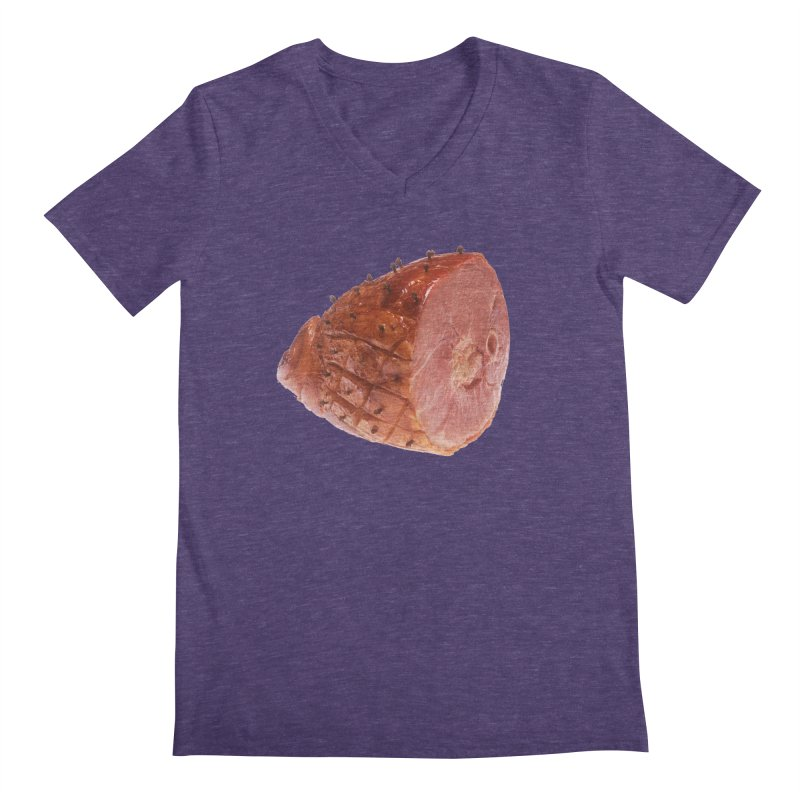 Good Looking Ham Men's V-Neck by rockthestereo's Artist Shop