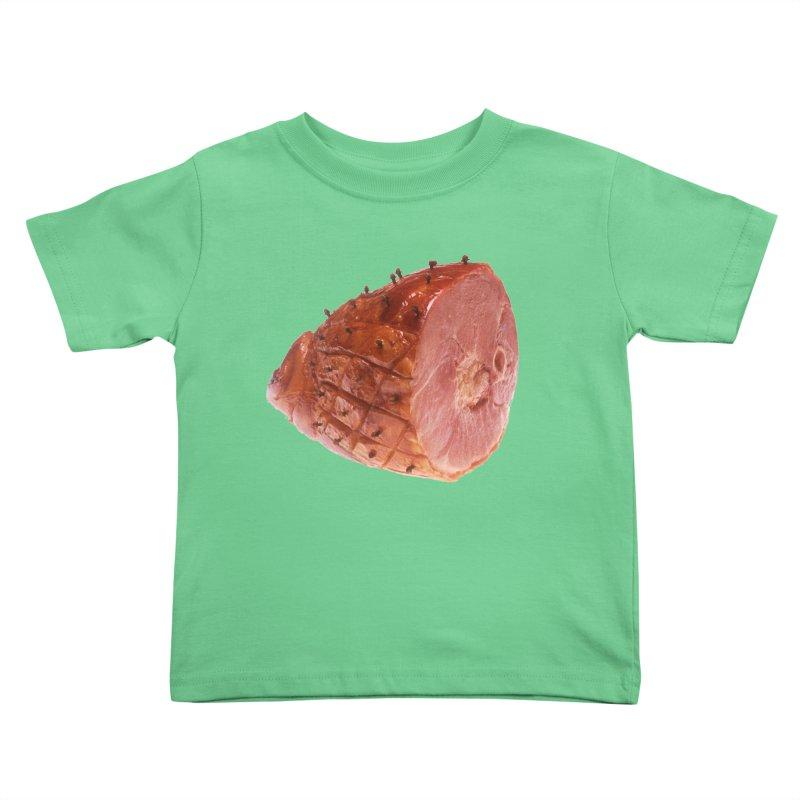 Good Looking Ham Kids Toddler T-Shirt by rockthestereo's Artist Shop