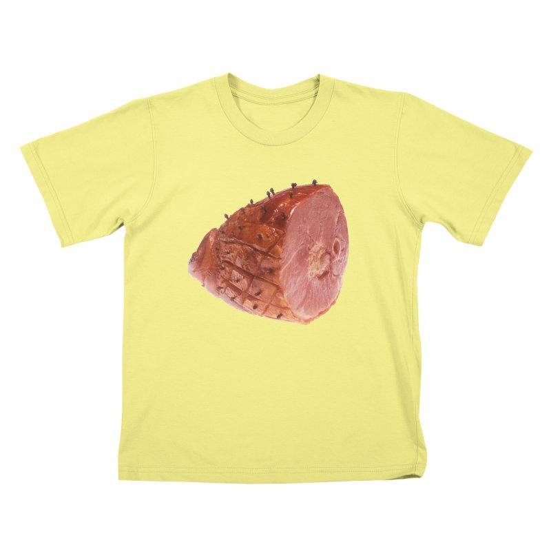 Good Looking Ham Kids T-shirt by rockthestereo's Artist Shop