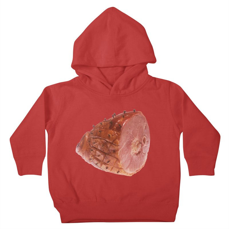 Good Looking Ham Kids Toddler Pullover Hoody by rockthestereo's Artist Shop