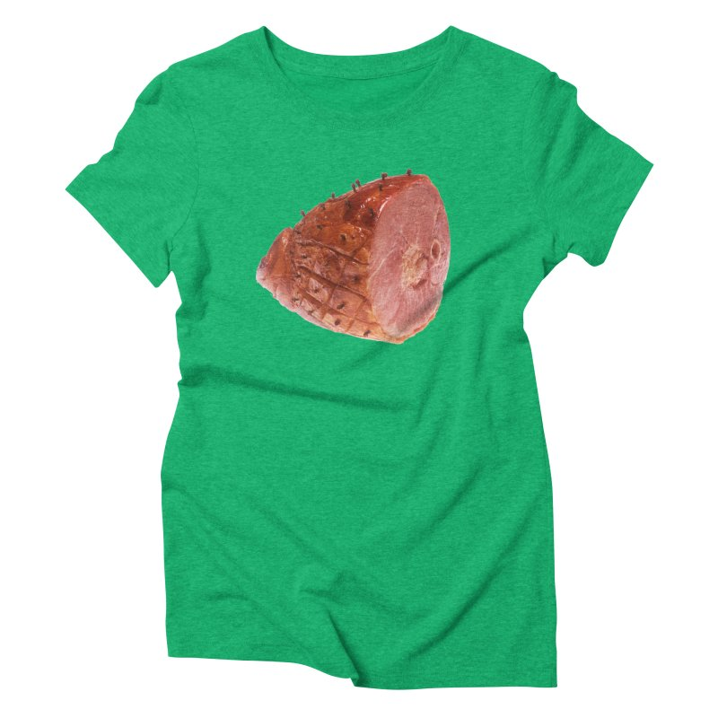 Good Looking Ham Women's Triblend T-shirt by rockthestereo's Artist Shop