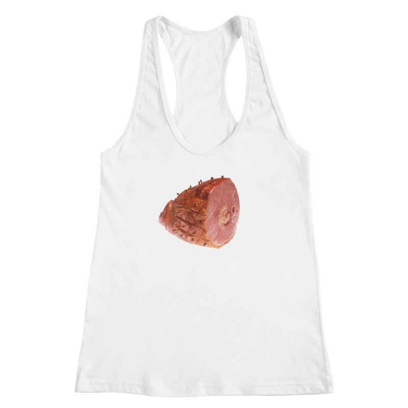 Good Looking Ham Women's Racerback Tank by rockthestereo's Artist Shop