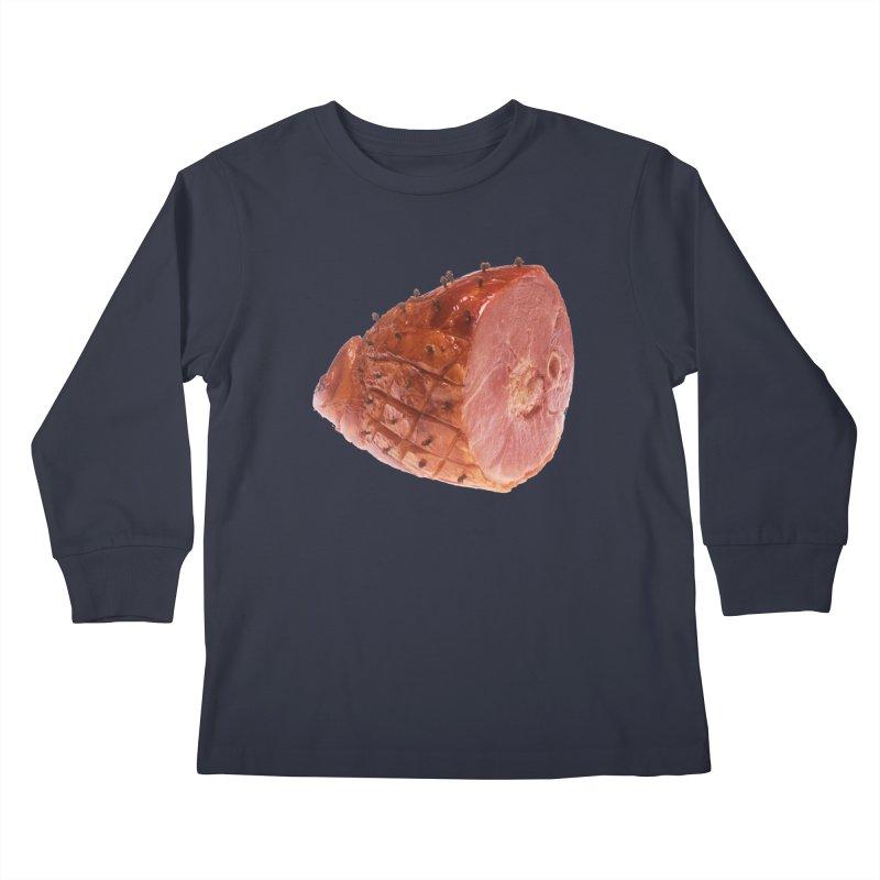 Good Looking Ham Kids Longsleeve T-Shirt by rockthestereo's Artist Shop