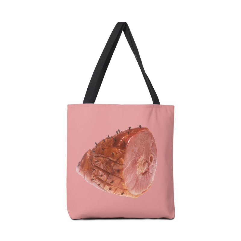 Good Looking Ham Accessories Bag by rockthestereo's Artist Shop