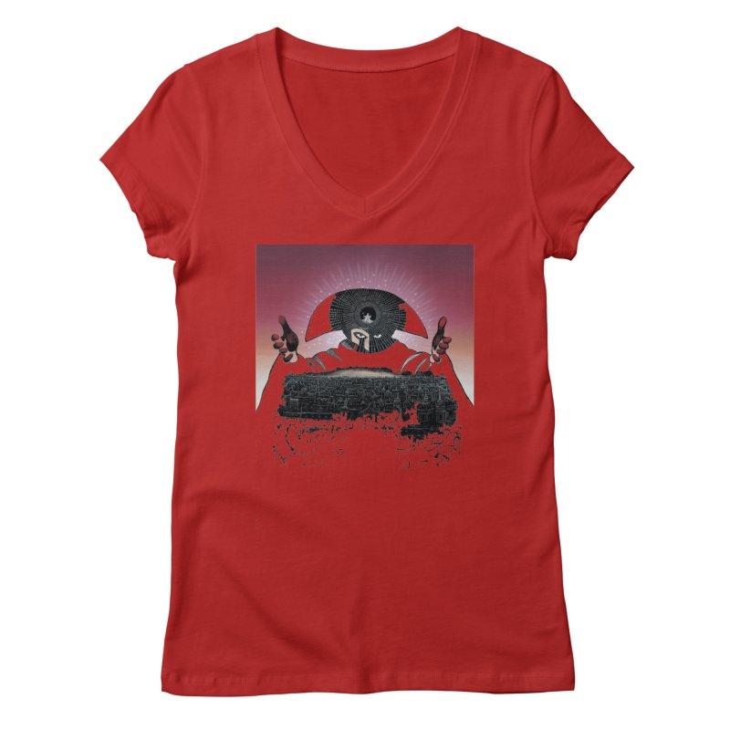 Revenge Women's V-Neck by rockthestereo's Artist Shop