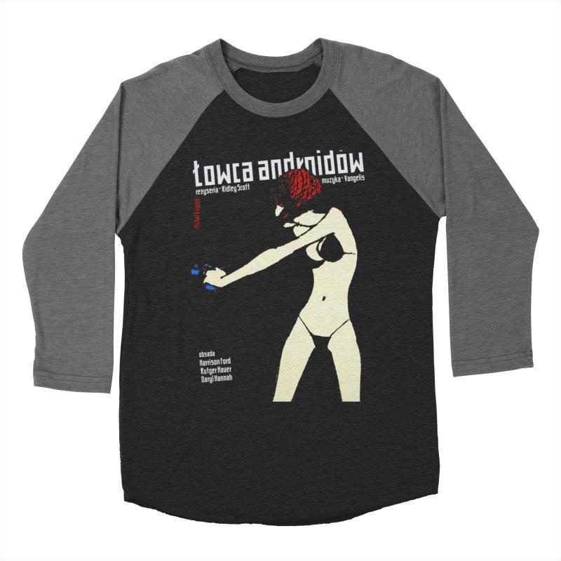 foreign blade Men's Baseball Triblend T-Shirt by rockthestereo's Artist Shop