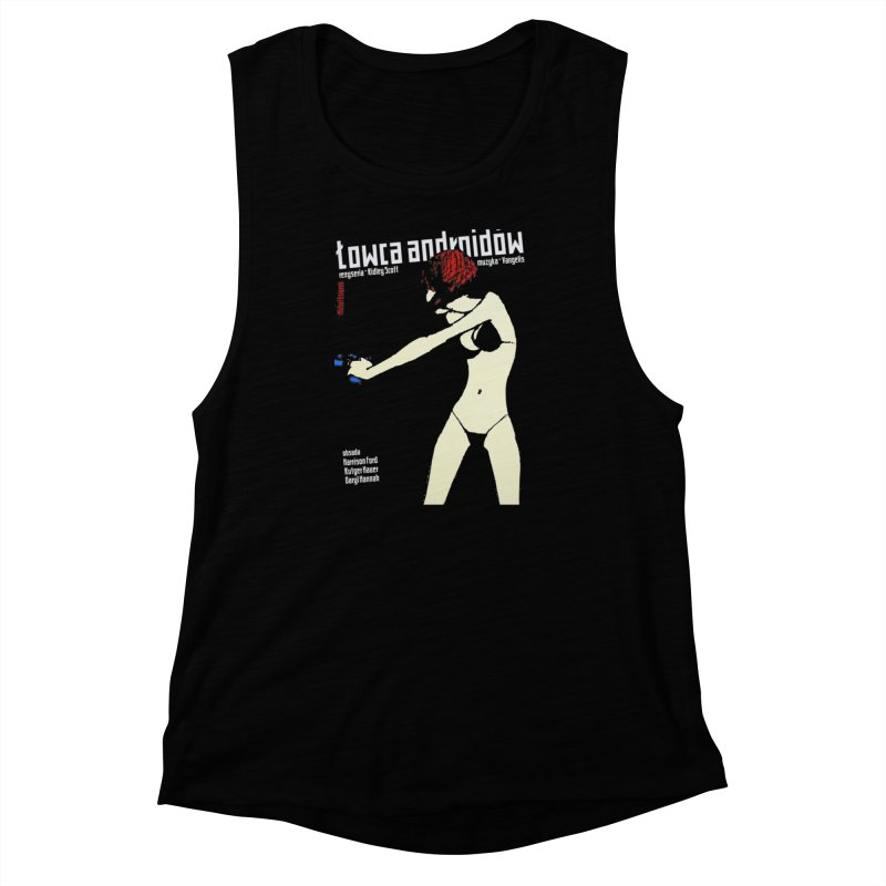 foreign blade Women's Muscle Tank by rockthestereo's Artist Shop