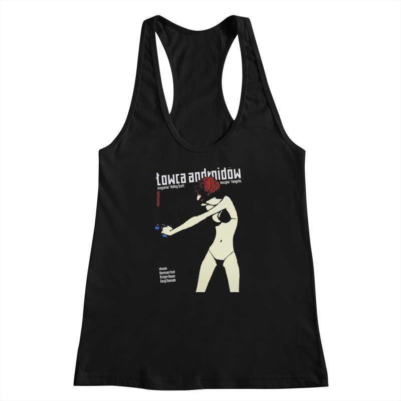 foreign blade Women's Racerback Tank by rockthestereo's Artist Shop