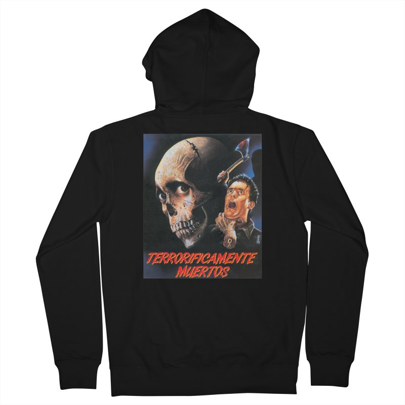 evil dos Men's French Terry Zip-Up Hoody by rockthestereo's Artist Shop