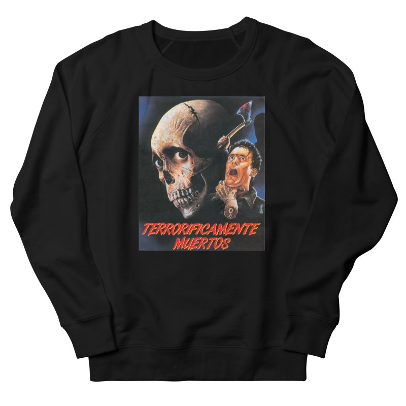 evil dos Men's French Terry Sweatshirt by rockthestereo's Artist Shop
