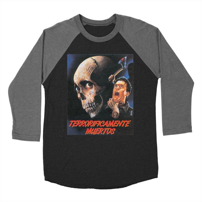 evil dos Women's Baseball Triblend T-Shirt by rockthestereo's Artist Shop