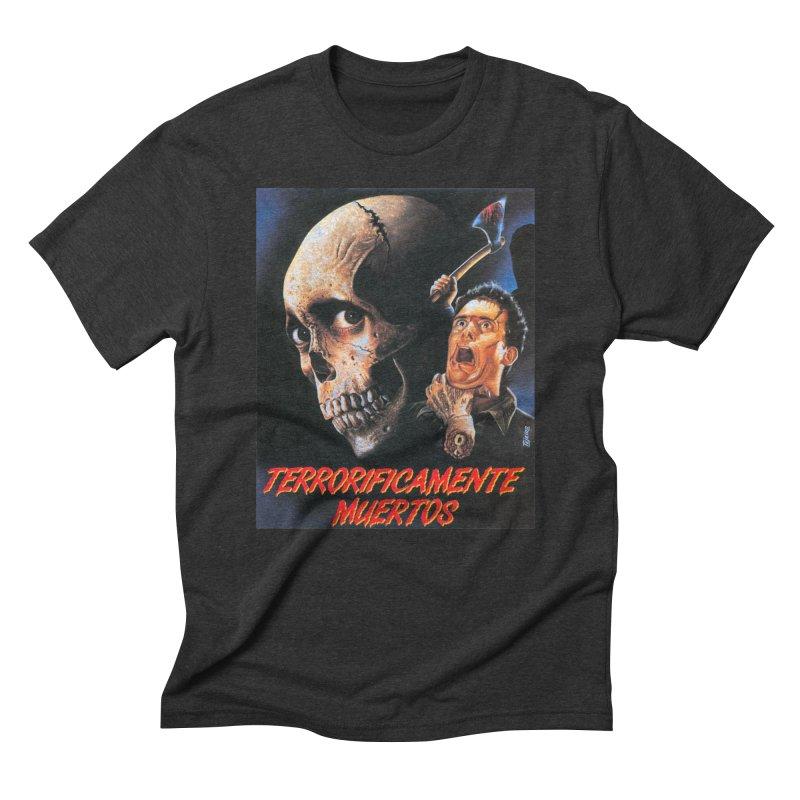 evil dos Men's Triblend T-shirt by rockthestereo's Artist Shop