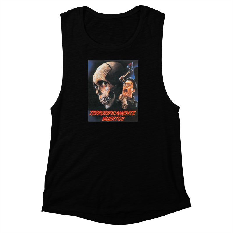 evil dos Women's Muscle Tank by rockthestereo's Artist Shop