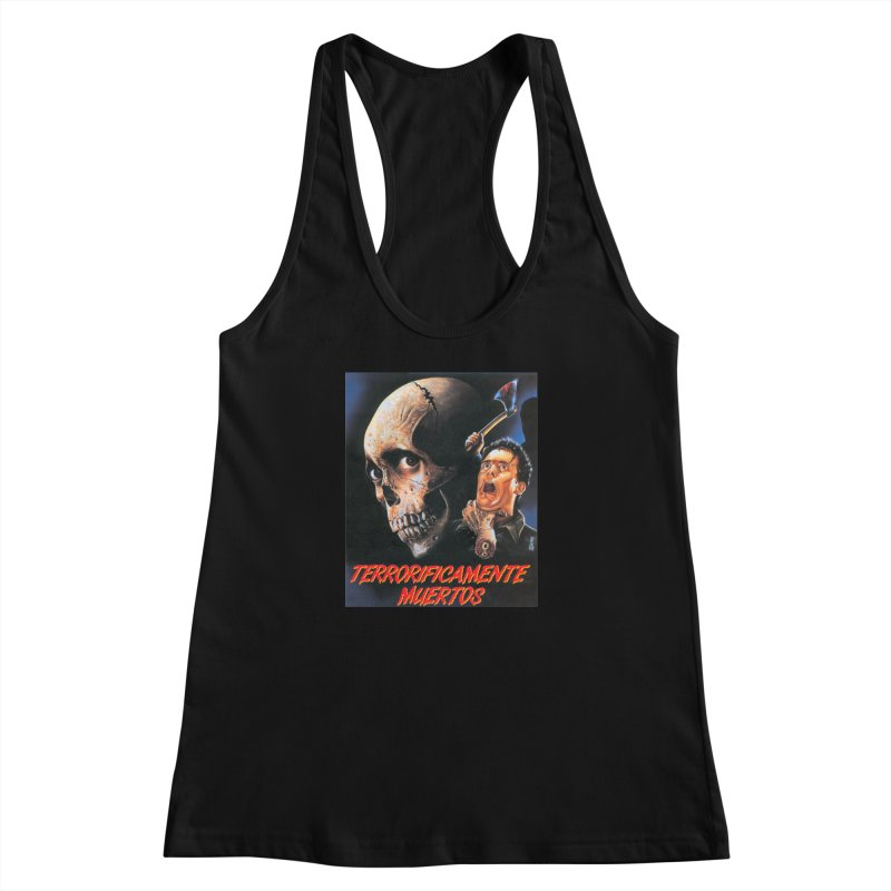 evil dos Women's Racerback Tank by rockthestereo's Artist Shop