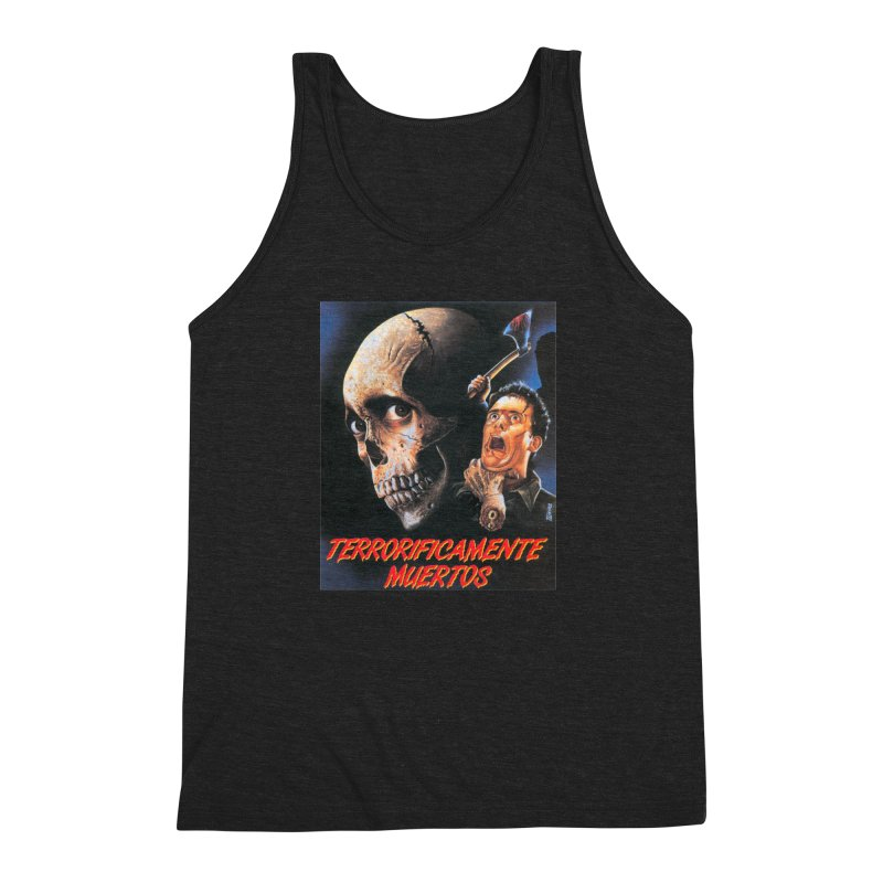 evil dos Men's Triblend Tank by rockthestereo's Artist Shop