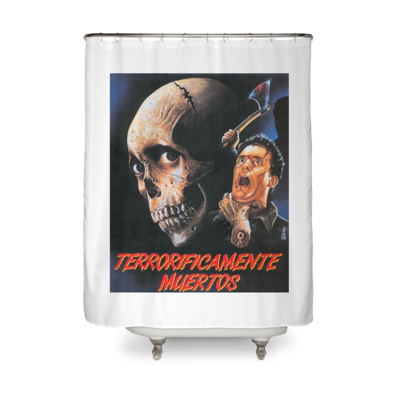 evil dos Home Shower Curtain by rockthestereo's Artist Shop