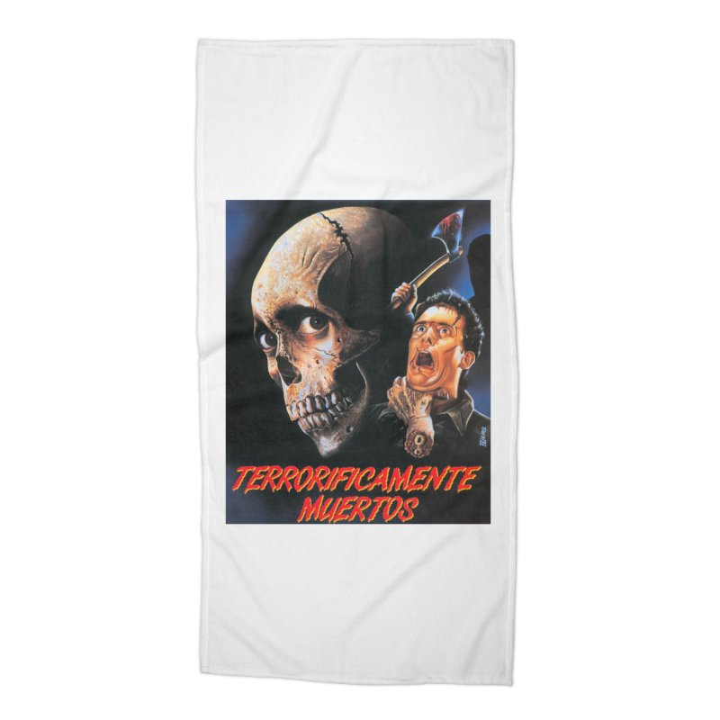 evil dos Accessories Beach Towel by rockthestereo's Artist Shop
