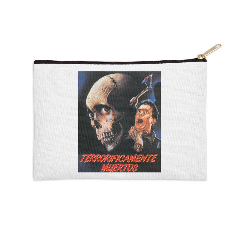 evil dos Accessories Zip Pouch by rockthestereo's Artist Shop