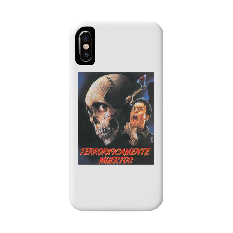 evil dos Accessories Phone Case by rockthestereo's Artist Shop