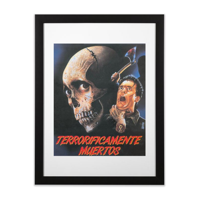 evil dos Home Framed Fine Art Print by rockthestereo's Artist Shop