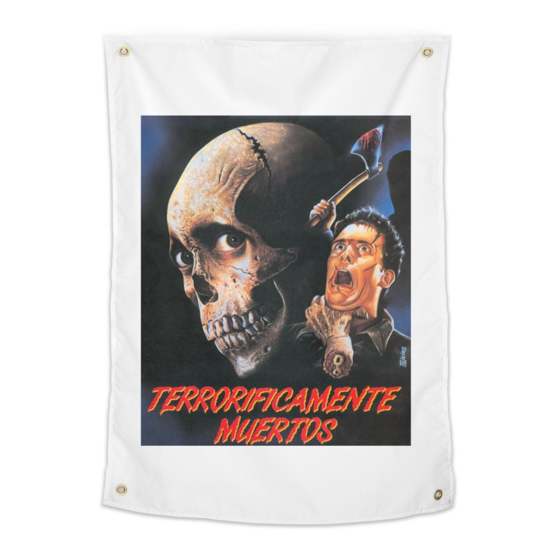evil dos Home Tapestry by rockthestereo's Artist Shop
