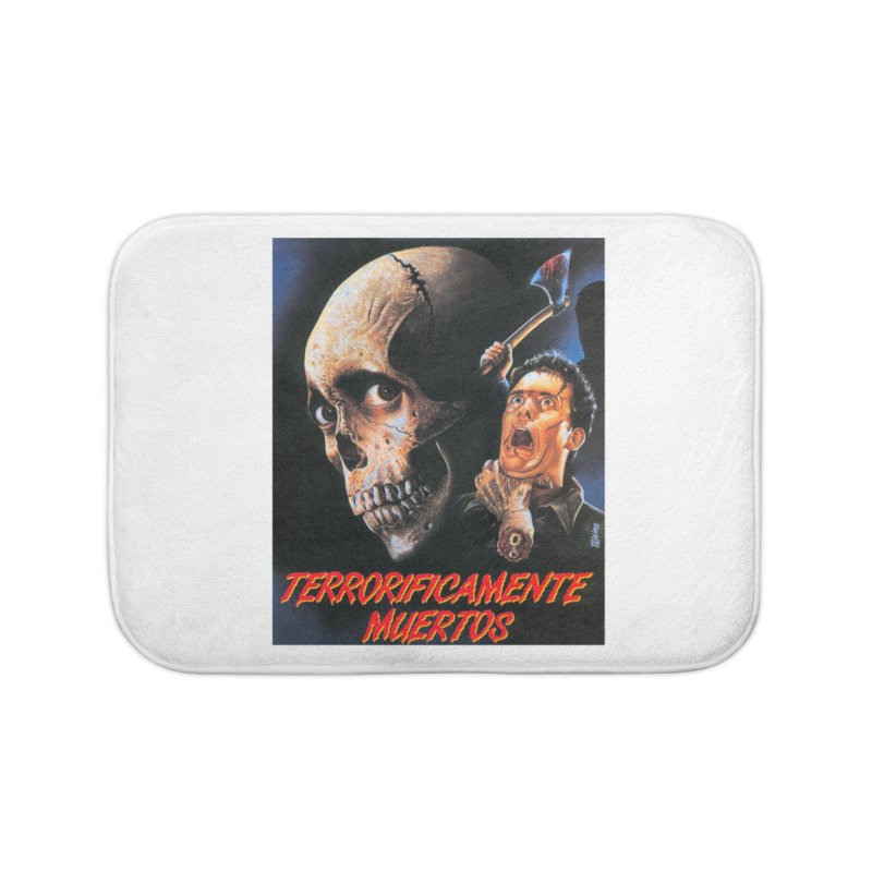 evil dos Home Bath Mat by rockthestereo's Artist Shop
