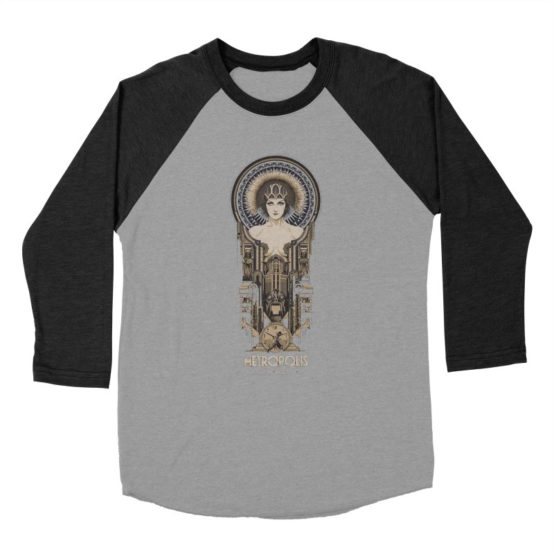 metro one Women's Baseball Triblend Longsleeve T-Shirt by rockthestereo's Artist Shop