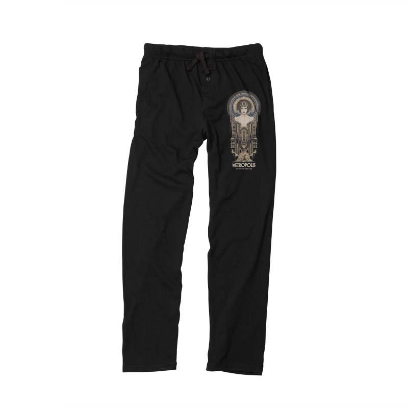metro one Women's Lounge Pants by rockthestereo's Artist Shop