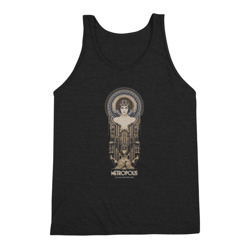 metro one Men's Triblend Tank by rockthestereo's Artist Shop