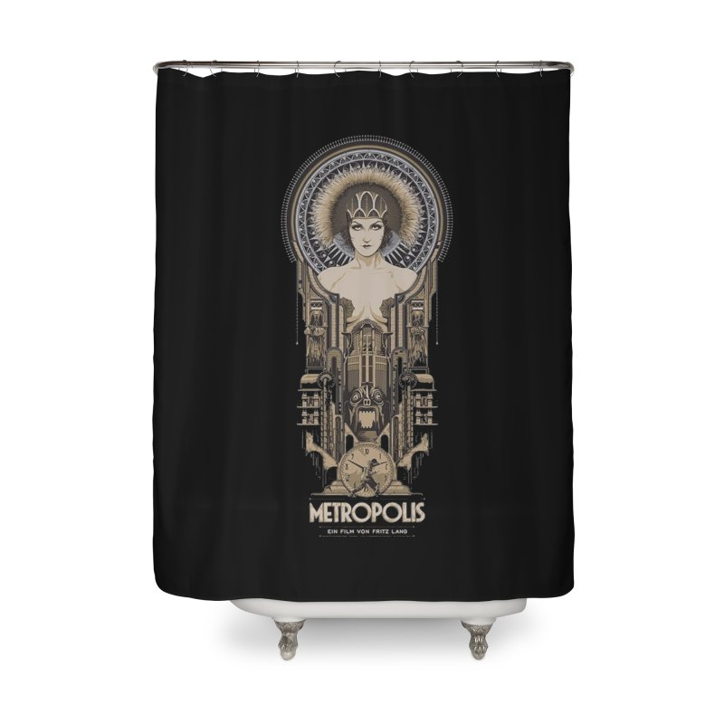 metro one Home Shower Curtain by rockthestereo's Artist Shop