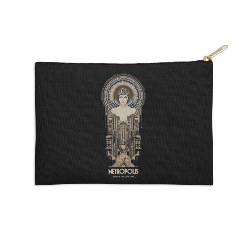 metro one Accessories Zip Pouch by rockthestereo's Artist Shop