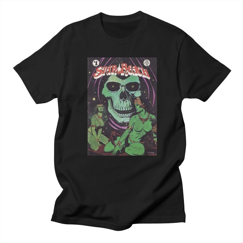 reaching for death Men's Regular T-Shirt by rockthestereo's Artist Shop