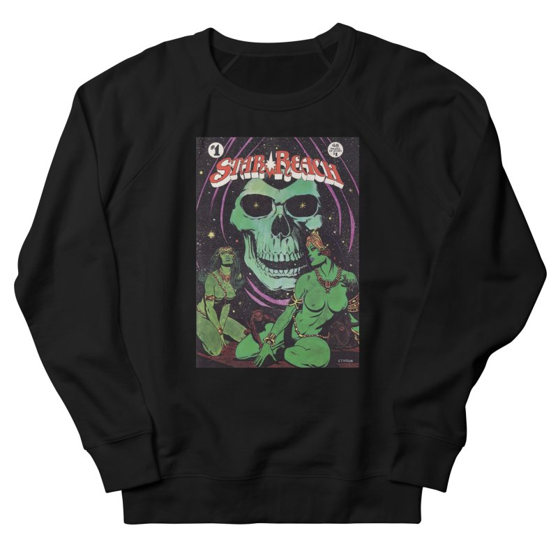 reaching for death Men's French Terry Sweatshirt by rockthestereo's Artist Shop