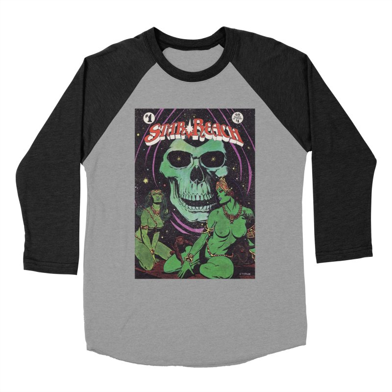 reaching for death Men's Baseball Triblend T-Shirt by rockthestereo's Artist Shop