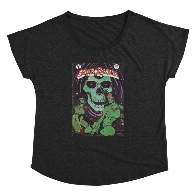 reaching for death Women's Dolman by rockthestereo's Artist Shop