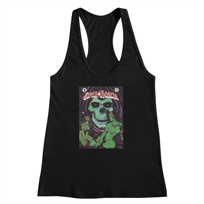 reaching for death Women's Racerback Tank by rockthestereo's Artist Shop