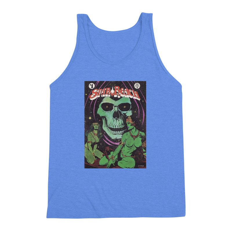 reaching for death Men's Triblend Tank by rockthestereo's Artist Shop