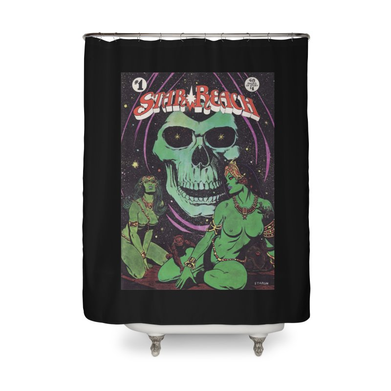 reaching for death Home Shower Curtain by rockthestereo's Artist Shop