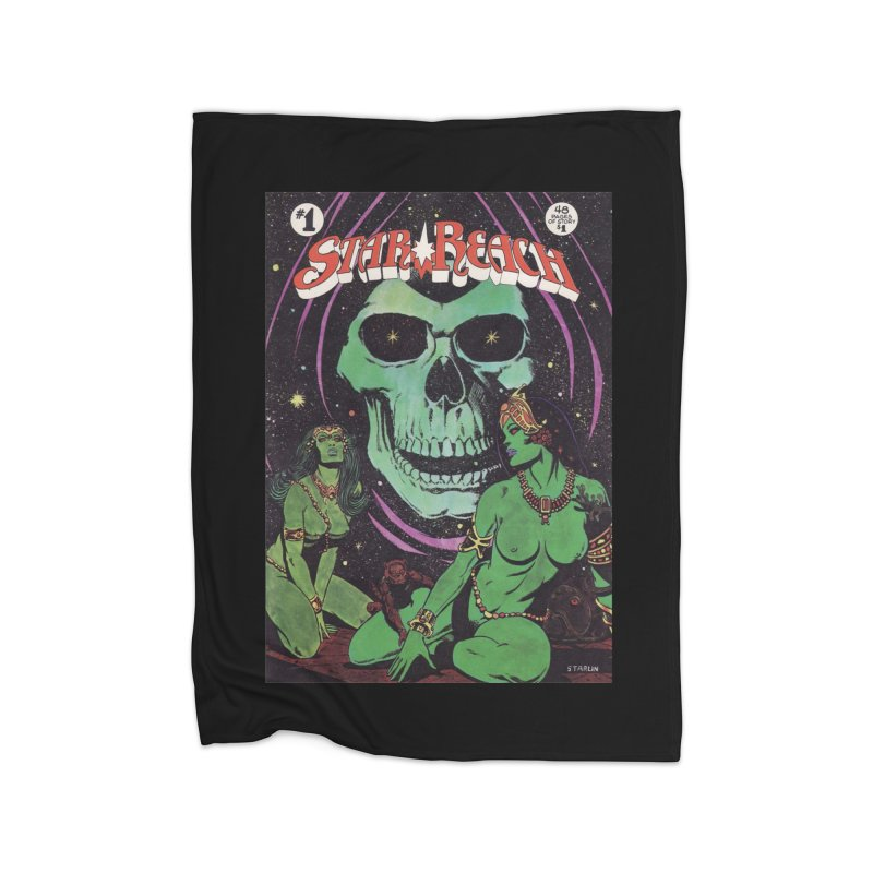 reaching for death Home Blanket by rockthestereo's Artist Shop