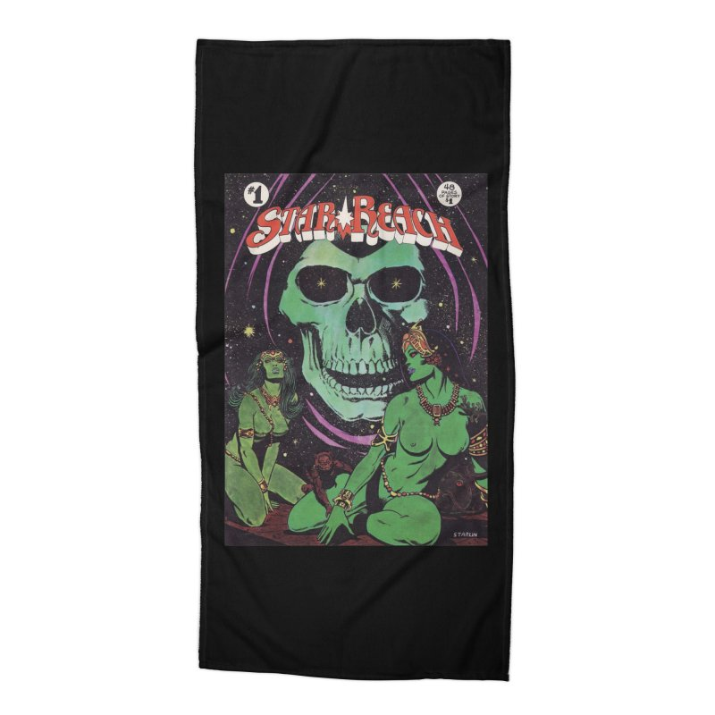 reaching for death Accessories Beach Towel by rockthestereo's Artist Shop