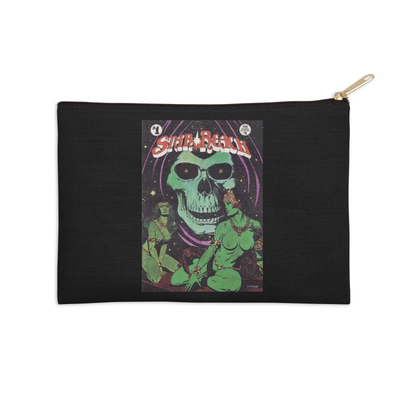 reaching for death Accessories Zip Pouch by rockthestereo's Artist Shop