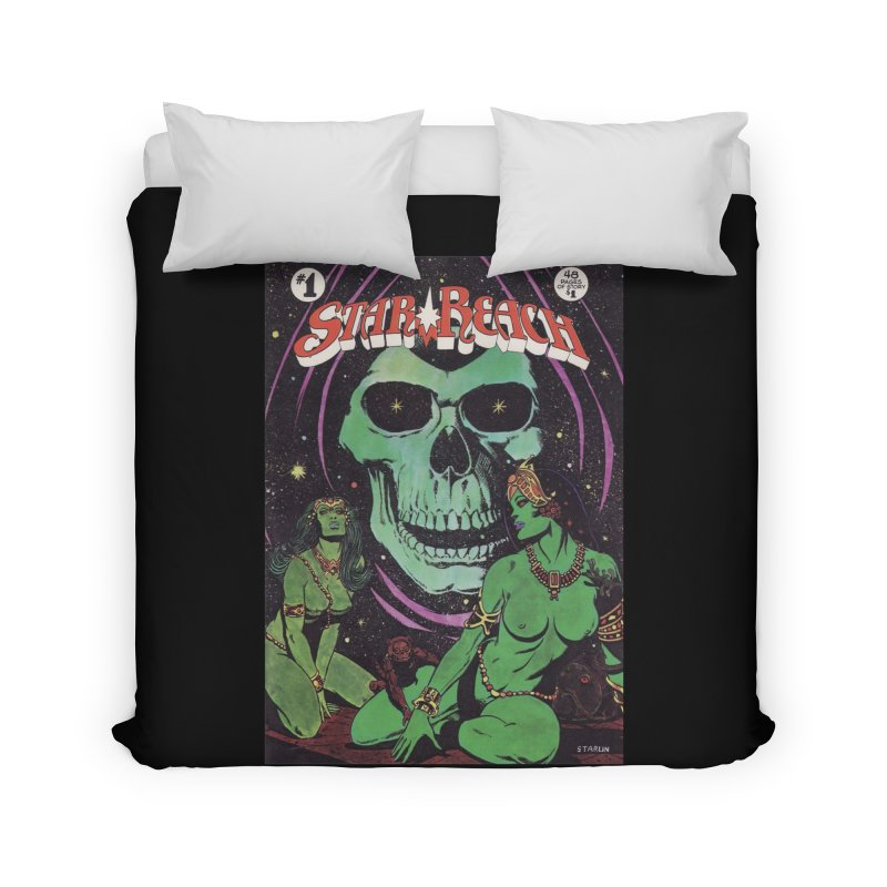 reaching for death Home Duvet by rockthestereo's Artist Shop