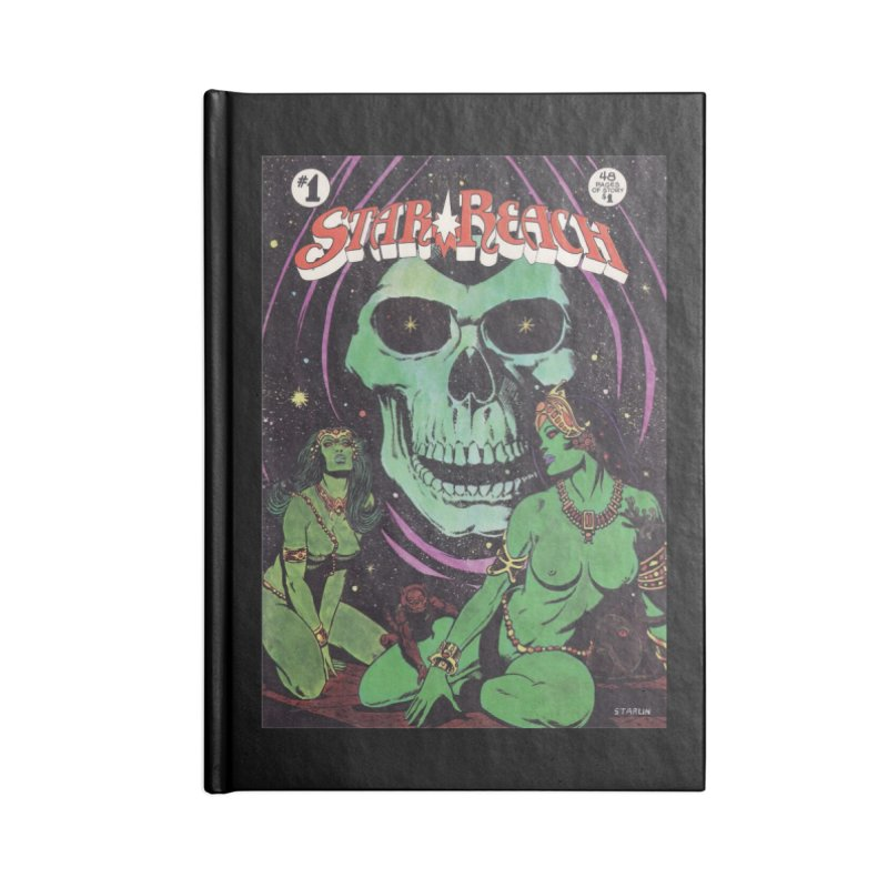 reaching for death Accessories Notebook by rockthestereo's Artist Shop