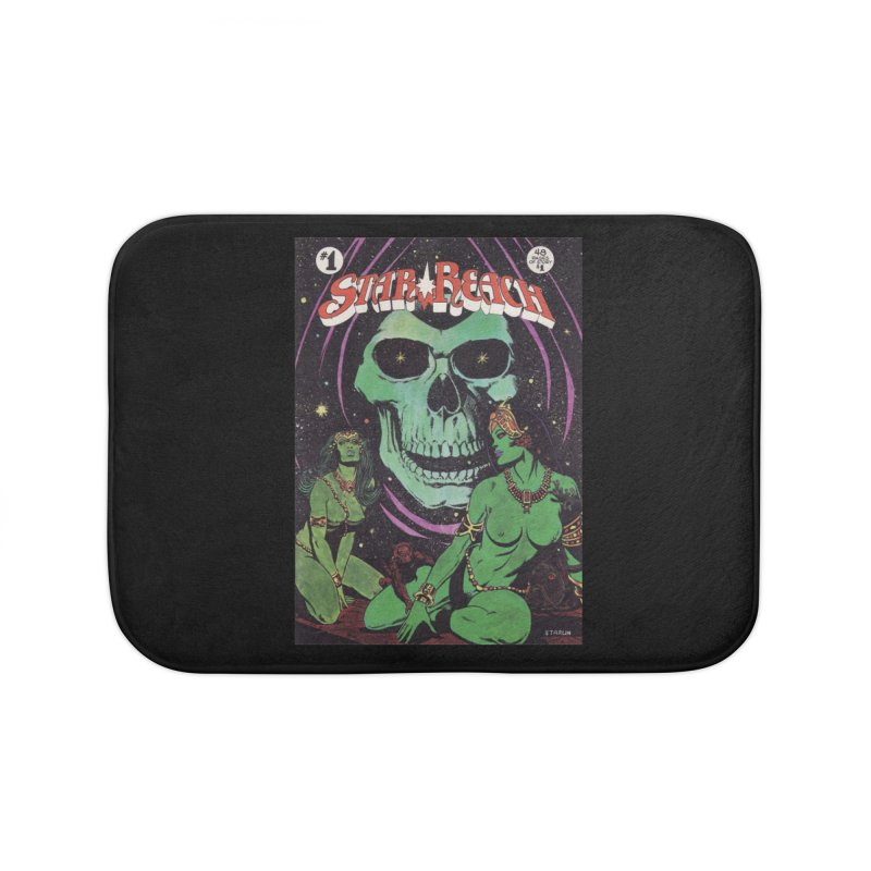 reaching for death Home Bath Mat by rockthestereo's Artist Shop