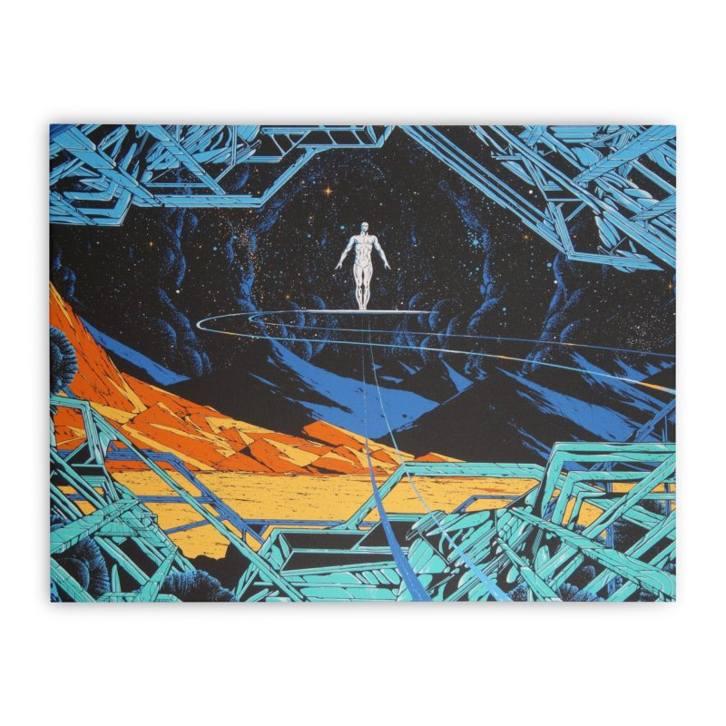 Hori Surf Home Stretched Canvas by rockthestereo's Artist Shop